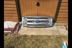 Chrome Ford F-150 Grille
