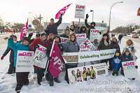 March on March 5 to Support Midwives in Saskatchewan
