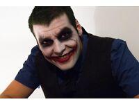 Halloween Makeup Artist; 30-31 October (Sunday-Monday); Putney