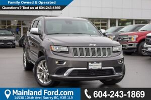 2014 Jeep Grand Cherokee Summit *ACCIDENT FREE* * LOCALLY DRI...