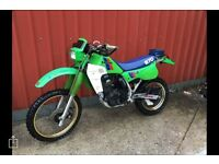 Kawasaki klr 600 / kl570 , Enduro, vinduro , dirt bike / field bike