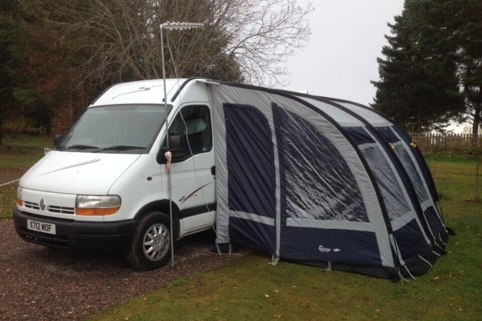 renault master camper van only 57k miles in aberdeen gumtree. Black Bedroom Furniture Sets. Home Design Ideas
