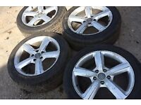 Audi Q7 alloys and tyres 275/45/20
