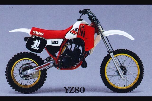 Yamaha yz 80 wanted motorcycle scooter accessories for Gardening tools gumtree