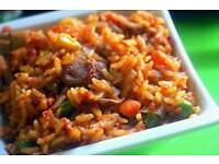 Africa/African, Nigeria foods. Jollof rice, Fried rice