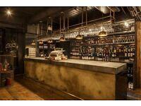 Bar Manager at The Bootlegger Cocktail Bar - Mon to Fri - Immediate Start