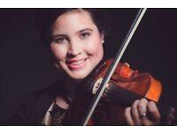 Violin/Viola/Piano/Voice Tuition