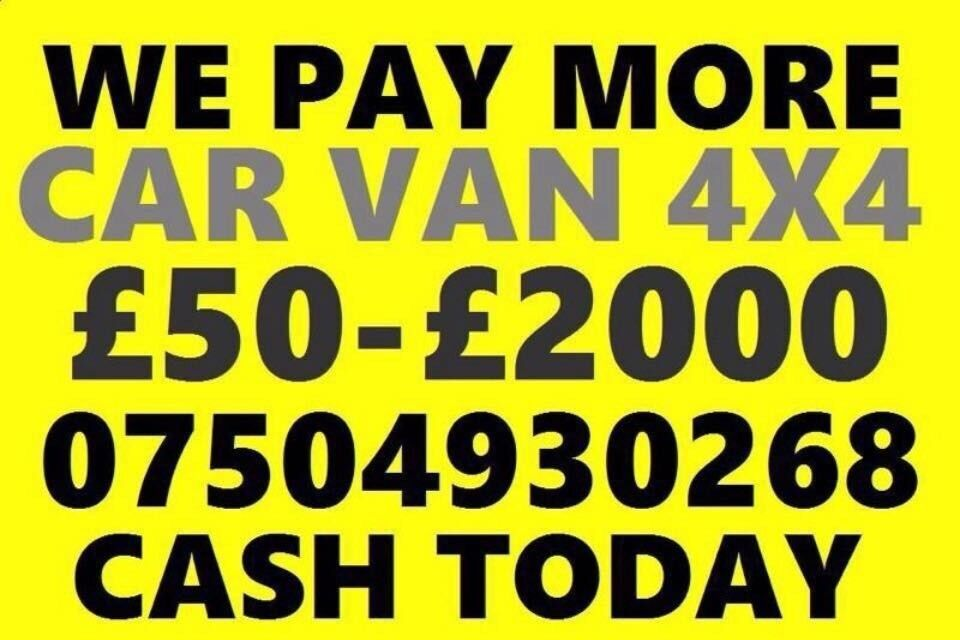 🇬🇧 07504 930268 SELL MY CAR VAN MOTORCYCLE FOR CASH BUY YOUR SCRAP ...