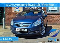 """FINANCE AVAILABLE"" 2011 (11) Vauxhall Corsa 1.2 Petrol, Year MOT, 3 month FREE Warranty"