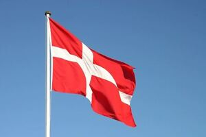 Denmark Danish National Flag 5 X 3FT Football Supporter Party Decorations Banner