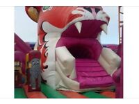 Massive 40ft by 25ft bouncy castle inflatable activity centre with slide