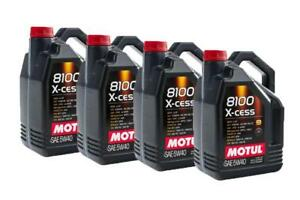MOTUL 8100 X-CESS 5W40 Case of 4 (5L)