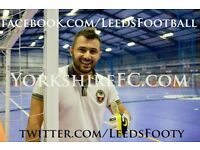 Play FREE Futsal, 7 a-side & 5 a-side Football in Leeds! All Players Welcome