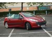Peugeot 207cc 1.6 turbo GT