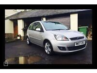 2007 FORD FIESTA ZETEC CLIMATE 1.4 PETROL 3 DOOR SILVER FACELIFT MODEL **RECENT CAMBELT CHANGE**