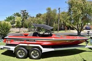 Hallett Ski Boat Irymple Mildura City Preview
