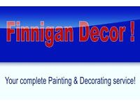 Self employed cis painter & decorator (Finnigan decor)
