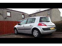 Renault Megan 1.4 petrol. 2005. Full year MOT!!!