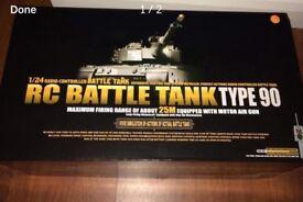 Heng long rc battle tank