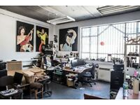 Studio 10 / Bright Creative Office Space / Hackney / East London / E8 / Hackney Downs Studios