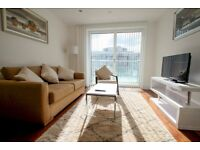 2 bedroom apartments, located in the popular area of Canary Wharf. Available now