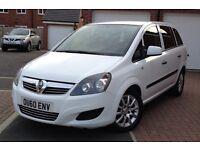2011 Vauxhall Zafira 1.9 Cdti 150 Bhp, 6 Speed, 70000 Miles, Full Dealer History, 1 Owner, 2 Keys,