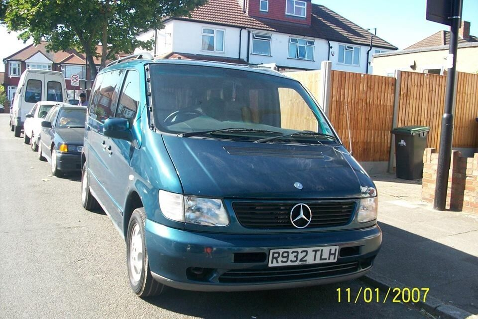 mercedes v230 ambiente auto vito in enfield london gumtree. Black Bedroom Furniture Sets. Home Design Ideas