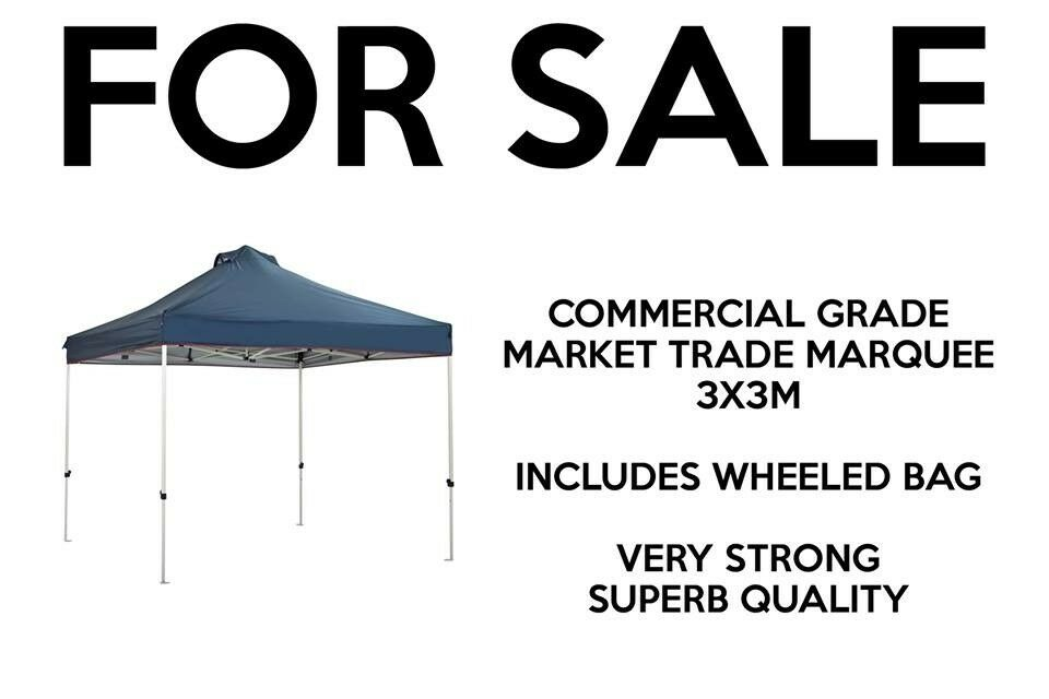 Market traders marquee commercial grade strong popup