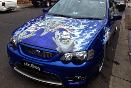 Custom Airbrushing,Sign painter, Pinstriping
