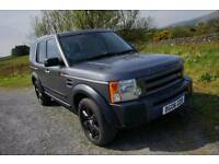 2006 Land Rover Discovery 3 TDV6, 12 MONTHS MOT, manual 6 speed, 7 seats