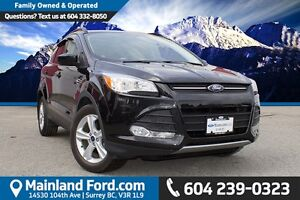 2015 Ford Escape SE LOCAL, ONE OWNER
