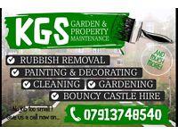 Gardening, landscaping, rubbish removal, property maintenance