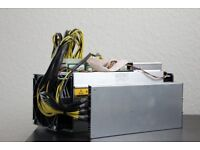 D3 Antminer £1600 for 1 or £3000 for 2x + PSU