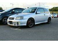 Toyota starlet glanza v swap p/x for civic type r