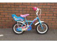 Child's girl bike