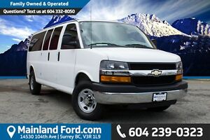 2015 Chevrolet Express 3500 1LT NO ACCIDENTS, EX-RENTAL
