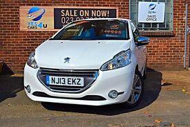 2013 (13) Peugeot 208 Allure, £30 a Year TAX!12 Months MOT & 3 Months RAC warranty As Standard!!