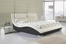 Dimond Stylish NEW Real Leather Bed Frame from YFF FURNITURE Auburn Auburn Area Preview