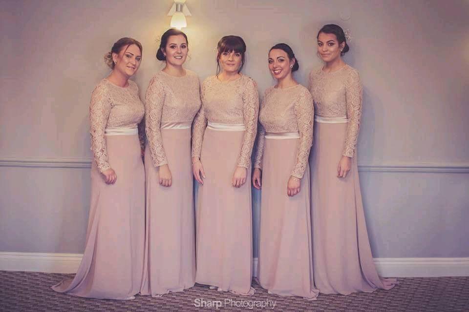Bonito Bridesmaid Dresses Derbyshire Ideas Ornamento Elaboración ...