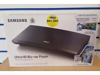 SAMSUNG ULTRA HD BLU-RAY PLAYER 4K UBD-M9000 BRAND NEW SEALED WITH WARRANTY AND RECEIPT