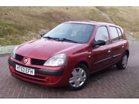 2004 Renault Clio 1.4 5 Doors, 83000 Miles, Full history lots of bills, Very Nice Clean car