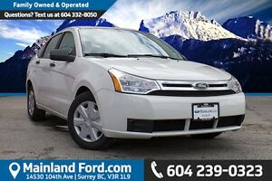 2011 Ford Focus S LOCAL, ONE OWNER