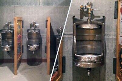 Beer Keg Urinal Stainless Steel Keg Urinal Mancave Urinal