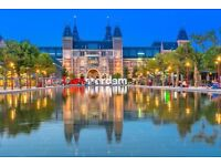 3 nights stay in Amsterdam for two including flights 22-25th June flying from Edinburgh airport