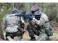 Airsoft Edinburgh Private Parties and Mobile Inflatable Range Services