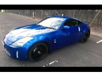 Stunning nissan 350z for sale with brand new dual cat back system and full 12 month mot