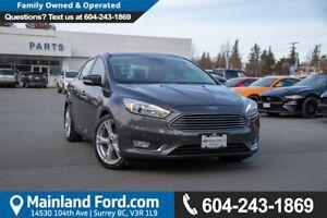 2015 Ford Focus Titanium ACCIDENT FREE, BC LOCAL, LOW KMS
