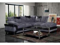 🎊🎁🎉 brand new dino jumbo cord fabric sofa !!!!!