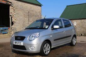 KIA Picanto Spice 2011, 1.0 Silver Petrol 5 door, 18,086 Genuine Miles
