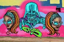 I CAN PAINT MURALS GRAFFITI ART PRIVATE OR BUSINESS BRISBANE AREA Brisbane City Brisbane North West Preview